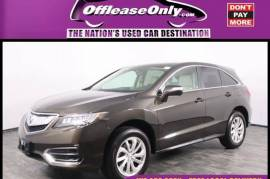 2018 Acura RDX AWD with Advance Package - $22,999