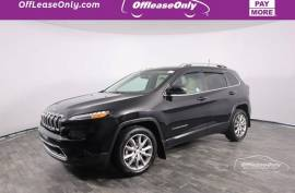 2018 Jeep Cherokee Limited 4WD - $20,999
