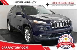 2016 Jeep Cherokee Limited 4WD - $14,961
