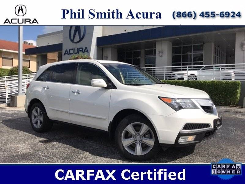 Used 2012 Acura MDX w/ Technology Package Share